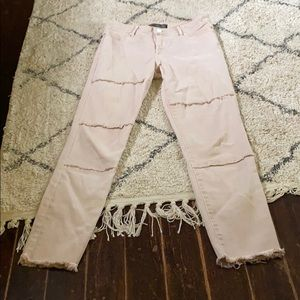 Abercrombie Signature Collection Pink Denim Jeans